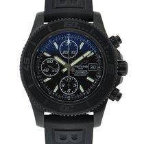Breitling Blacksteel Superocean Chronograph II Black Dial On...