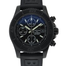Breitling Blacksteel Superocean Chronograph II Black Dial On...