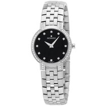 """Movado Women's 605586 """"""""faceto"""""""" Stainless..."""