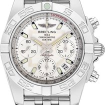 Breitling AB014012/G711 Chronomat Evolution in Steel - on...