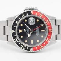 "Rolex GMT-Master II Fat Lady ""NoDate"" Coke Full Set"