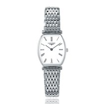 Longines La Grande Classique White Stainless Steel Quartz...