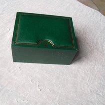 Rolex grüne Vintage Lederbox