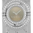 Gucci YA112 11012504 Stainless Steel & Diamonds