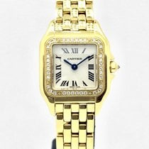 Cartier 18k GOLD Panthere (original diamond bezel from Cartier)