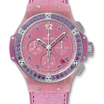 Hublot : 41mm Big Bang Purple Linen Watch