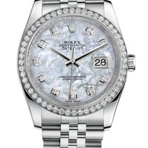 Rolex Oyster Perpetual Datejust Pearl and Diamonds Dial