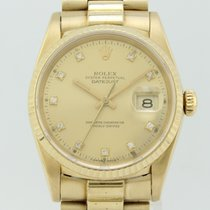 Rolex Oyster Perpetual Datejust Automatic Gold 16238