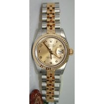 Rolex Datejust Lady's 179173 Steel and 18K Yellow Gold...