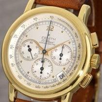 Zenith El Primero 18K Gold Chronograph Chronometer Automatic