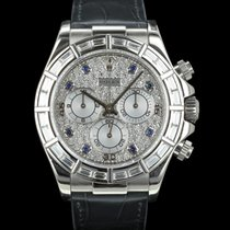 Rolex DAYTONA 116589 BR WHITE GOLD WITH DIAMONDS FULL SET