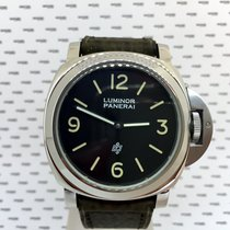 Panerai Luminor Logo Pre Vendome Steel - 5218/201A
