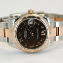 Rolex Lady-Datejust Two Tone 18kt RG/SS Diamond Bezel/Dial...