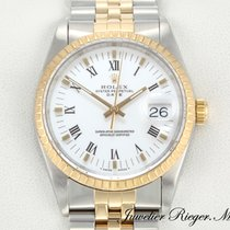 Rolex Date Stahl Gelbgold 750 Automatik 34 mm
