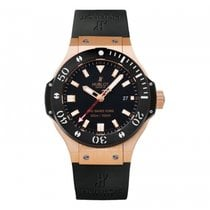 Hublot Big Bang 44mm  18k Rose Gold Mens WATCH 312.PM.1128.RX