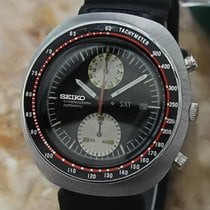 Seiko UFO Mens Japan Vintage 1970 Stainless St 44mm Chronograp...