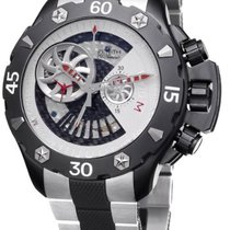 Zenith Defy Xtreme Open Chronograph Black Titanium Men's Watch...