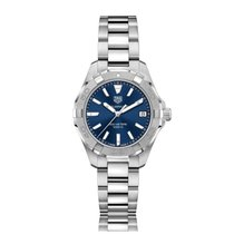 TAG Heuer Aquaracer Quartz Stainless Steel Blue Dial Ladies...