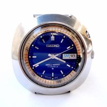 Seiko Bell Matic Automatic Alarm 1970c Steel 43mm