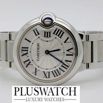 Cartier Ballon Bleu de Silver Guilloche Silver Dial W69011Z4