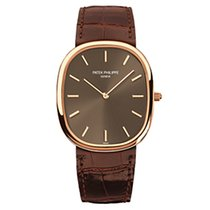 Patek Philippe 3738/100R Rose Gold Men Golden Ellipse [NEW]