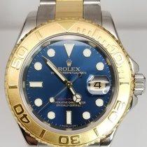 롤렉스 (Rolex) Rolex 16623 b blue Yacht-Master Mens Steel and Gold