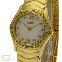 Ebel Classic Wave 18K.Gold mit Brillanten