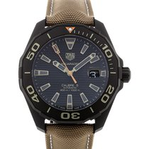 TAG Heuer Aquaracer 43 Automatic Brown Strap Calibre 5