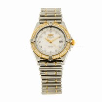 Breitling Lady Wings Mother of Pearl Diamond Watch D67350...