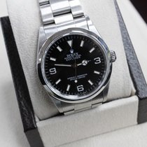 Rolex Explorer 14270 Oyster Perpetual Black Dial Stainless Steel