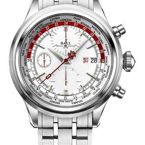 Ball Trainmaster Worldtime Chronograph CM2052D-S1J-SLRD
