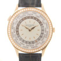 百達翡麗 (Patek Philippe) Complications 18k Rose Gold White...