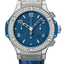 Hublot Big Bang 41mm Tutti Frutti Dark Blue Diamonds