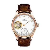 IWC IW546302 Potuguese Tourbillon Hand Wound Manual in Rose...