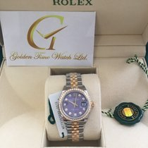 勞力士 (Rolex) Oyster DateJust Lady 28mm Diamond : 279383RBR...