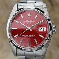 Rolex Mens 1974 Vintage Oyster Automatic Date 1500 Stainless...
