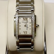 Patek Philippe 4910/10A Lady Steel Diamond Twenty-4 Timeless...