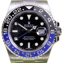 Rolex GMT-Master II 116710BLNR Ceramic Blue Black Batman 40mm...