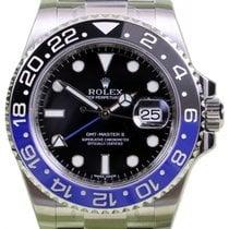 Rolex GMT-Master II 116710BLNR Ceramic Blue Black Batman 40mm...
