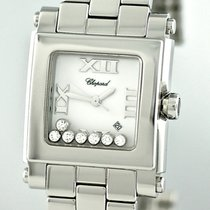 Chopard Happy Sport Square Diamonds Quartz Medium Lady