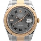 Rolex Datejust II Stahl Gelbgold Automatik Armband Oyster 41mm...