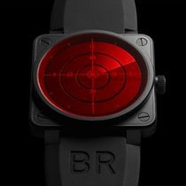 Bell & Ross BR01-92 Red Radar Aviation Watch - 999 Limited...
