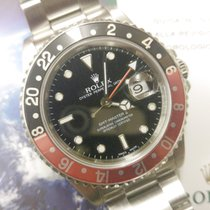 Rolex GMT Master II - 16710 - Coke - Black Red - Official Service