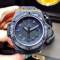 Hublot King Power Oceanographic 400 All Black Blue Men's...