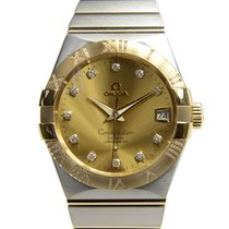 Omega Constellation Gold And Steel Gold Automatic 123.25.38.21...
