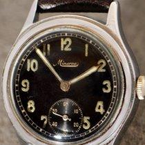 ミネルヴァ (Minerva) vintage Military wristwatch WW2