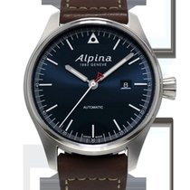 Alpina Startimer Pilot Navy Sunray Dial