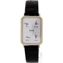 Piaget 18k White Gold Piaget World Time 15402