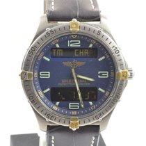 Breitling Aerospace Herren Uhr Titan/gold 42mm F65062 Vintage...