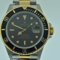 Rolex SUBMARINER  16803 ACCIAIO ED ORO  BLACK  MATT DIAL